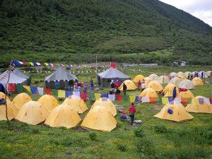 BCのテント村